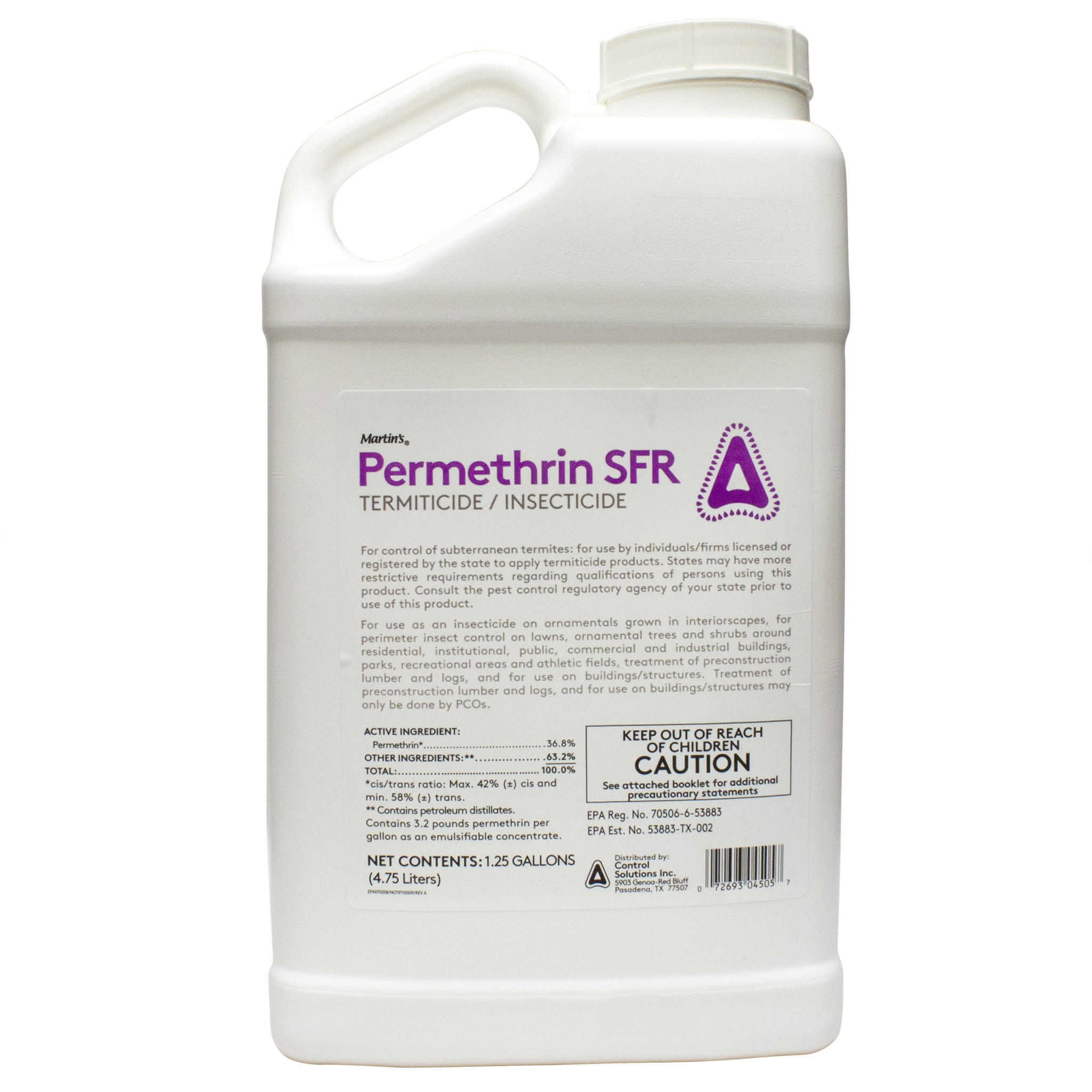 Permethrin Insecticide Application