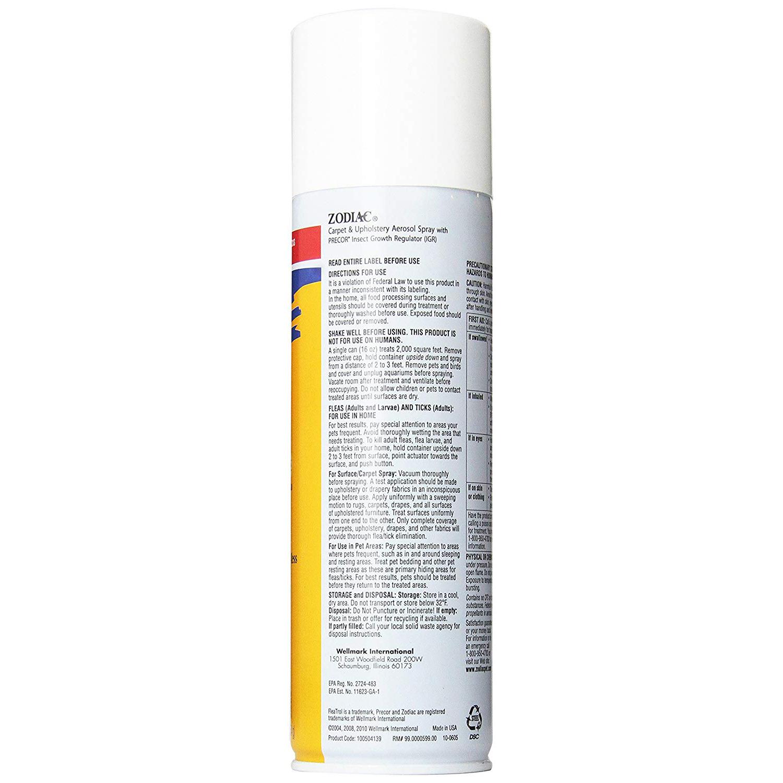 Zodiac Fleatrol Carpet Upholstery Pump Spray Reviews