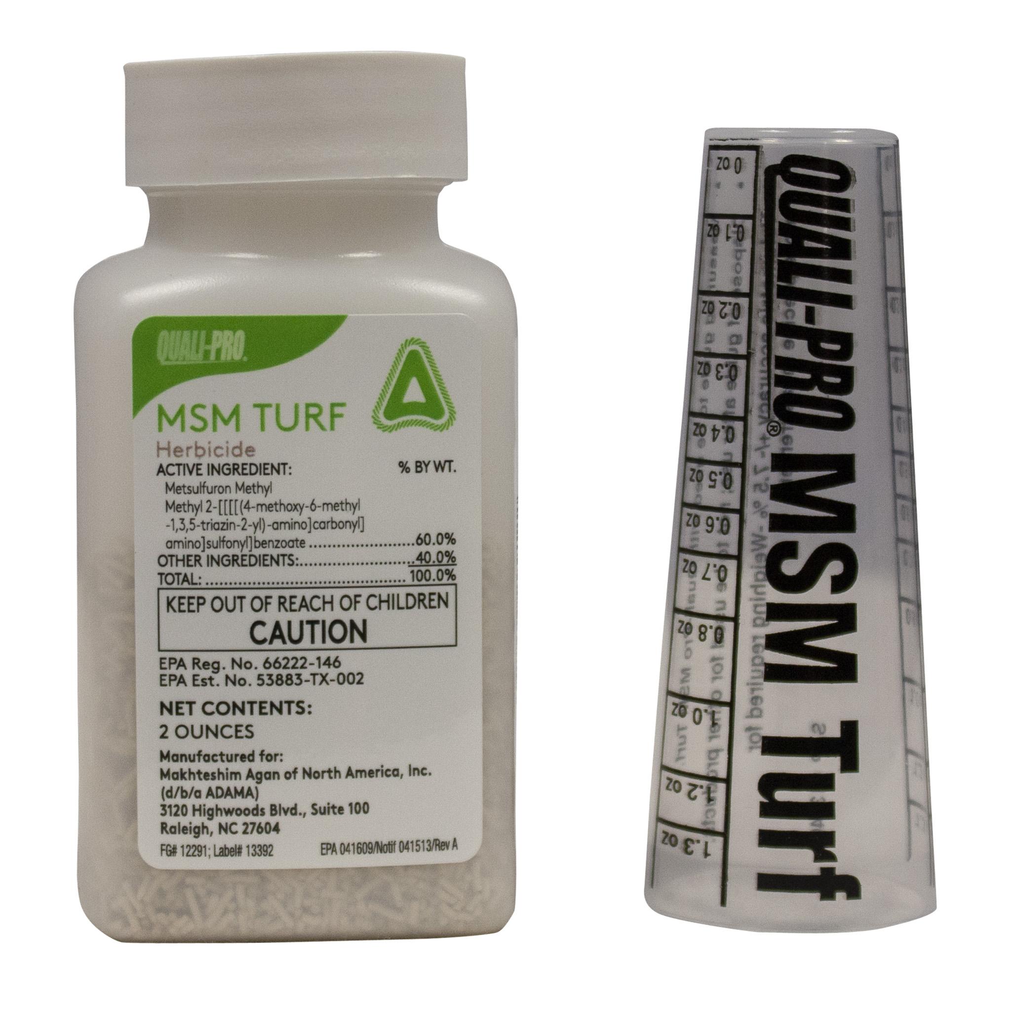 MSM Turf Herbicide