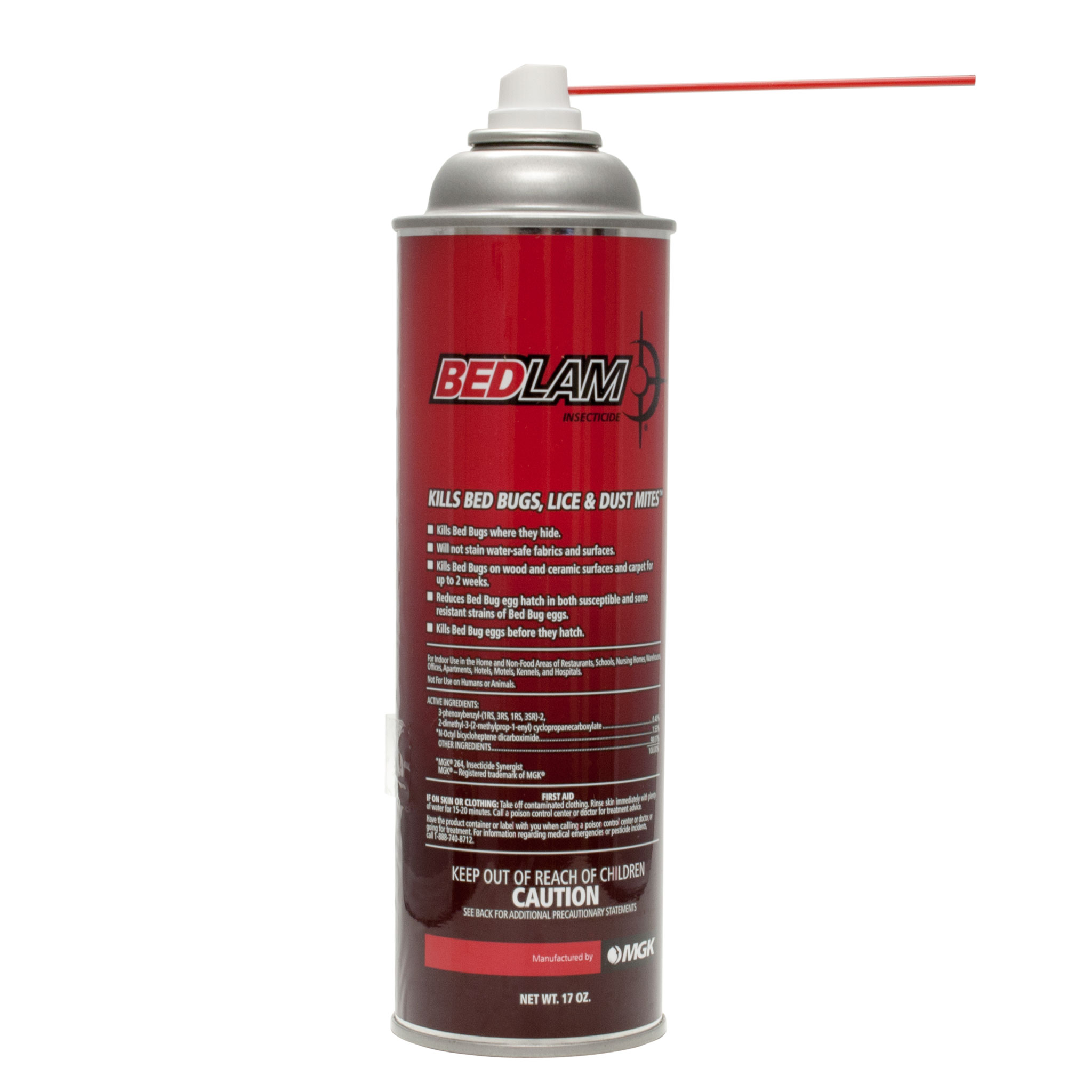 Bedlam Aerosol Insecticide Kills Bed Bugs Lice Amp More