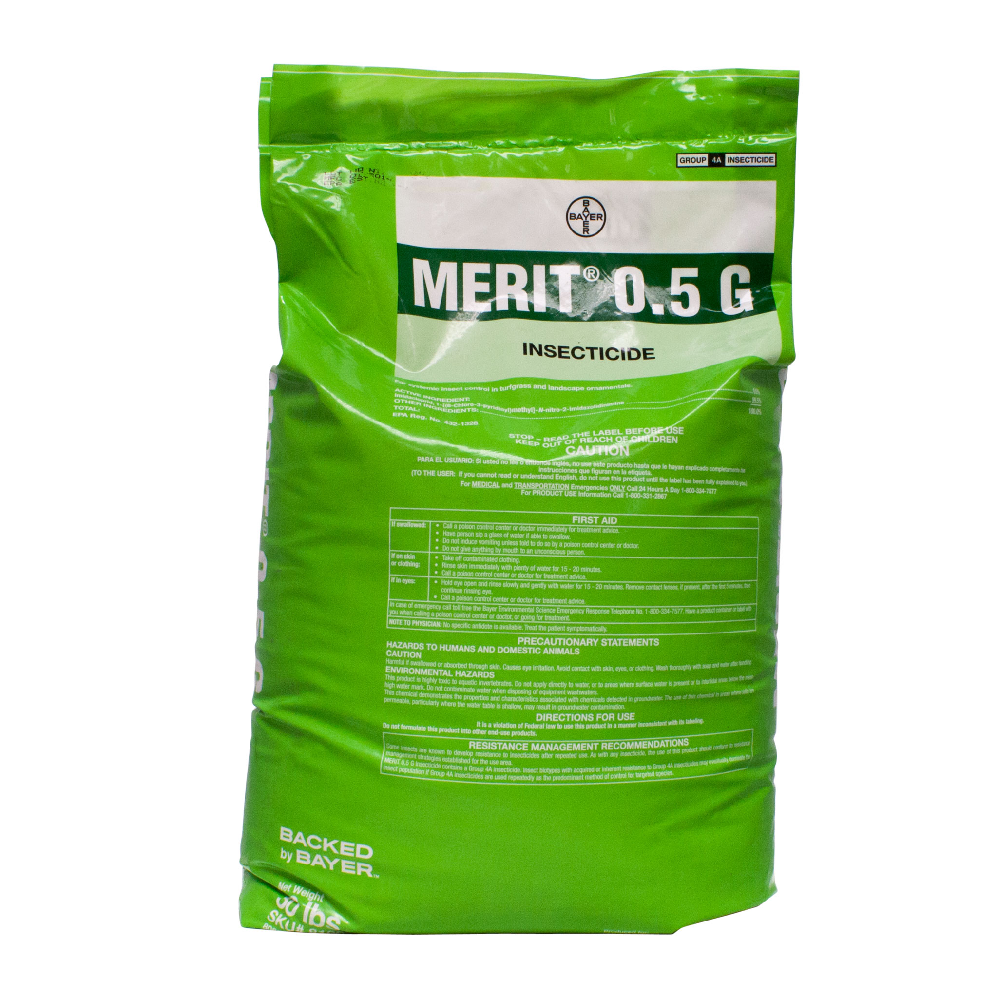 Merit Granular Insecticide for Grub Control