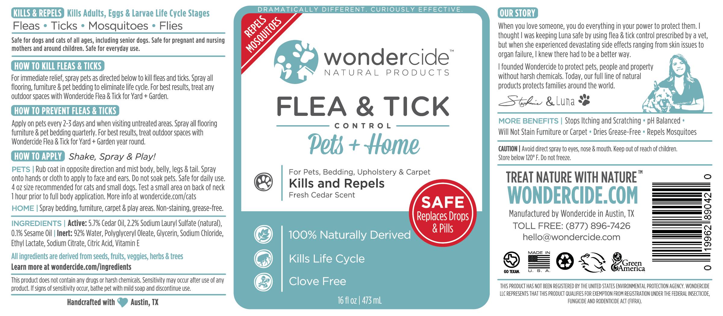 Flea & Tick Control Pets & Home - Cedar
