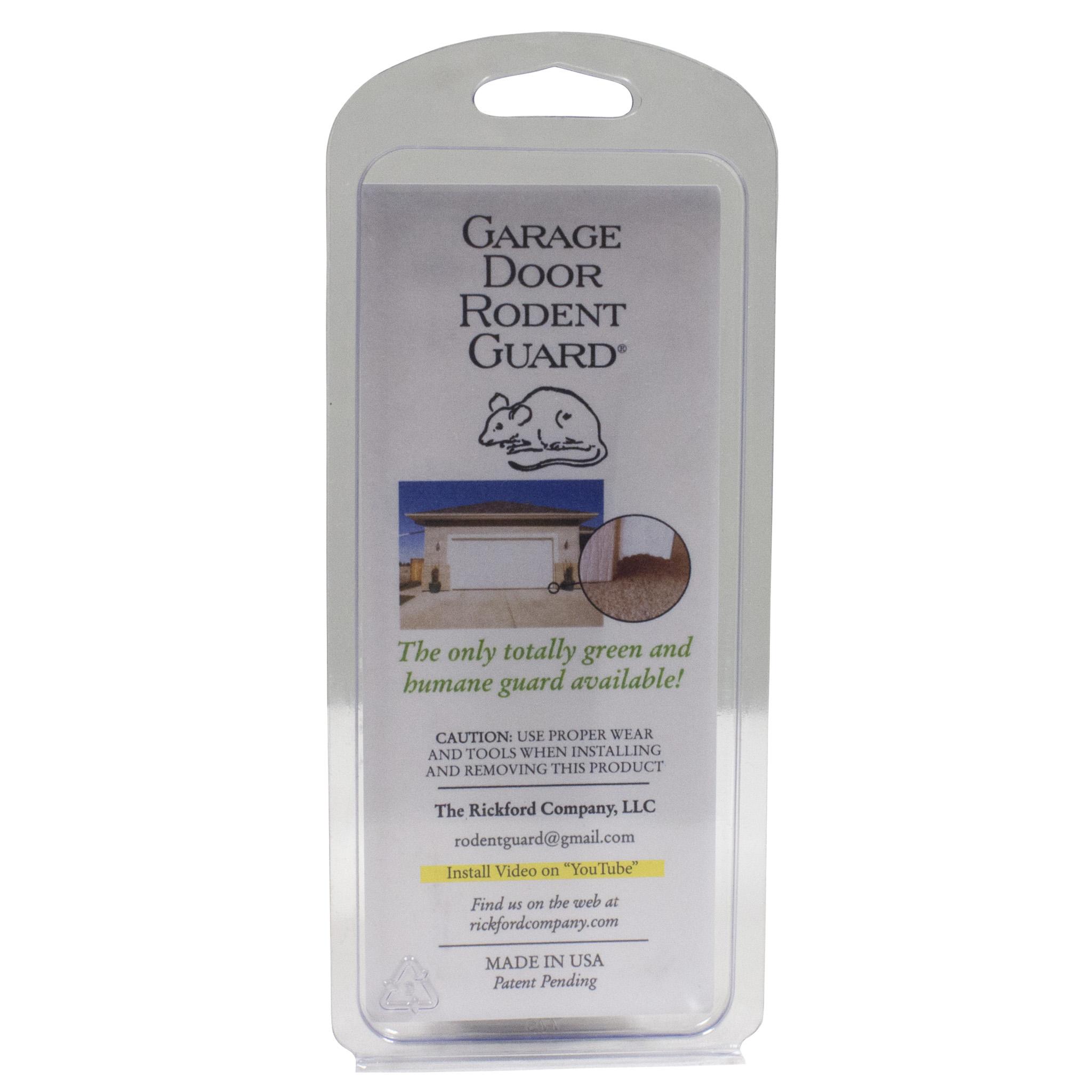 garage door stop moldingGarage Door Rodent Guard  Rat  Mouse Control  Do My Own