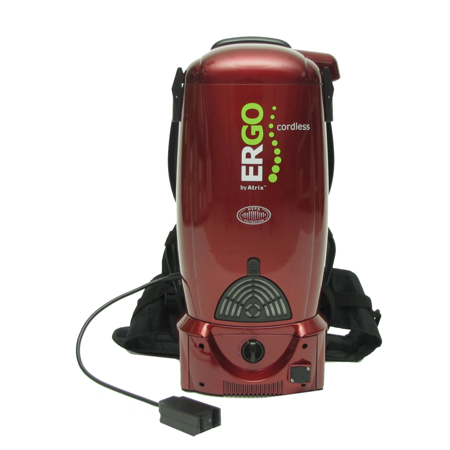 70522c41055 Atrix Ergo Cordless Rechargeable Battery Backpack Vacuum ( VACBP36V)