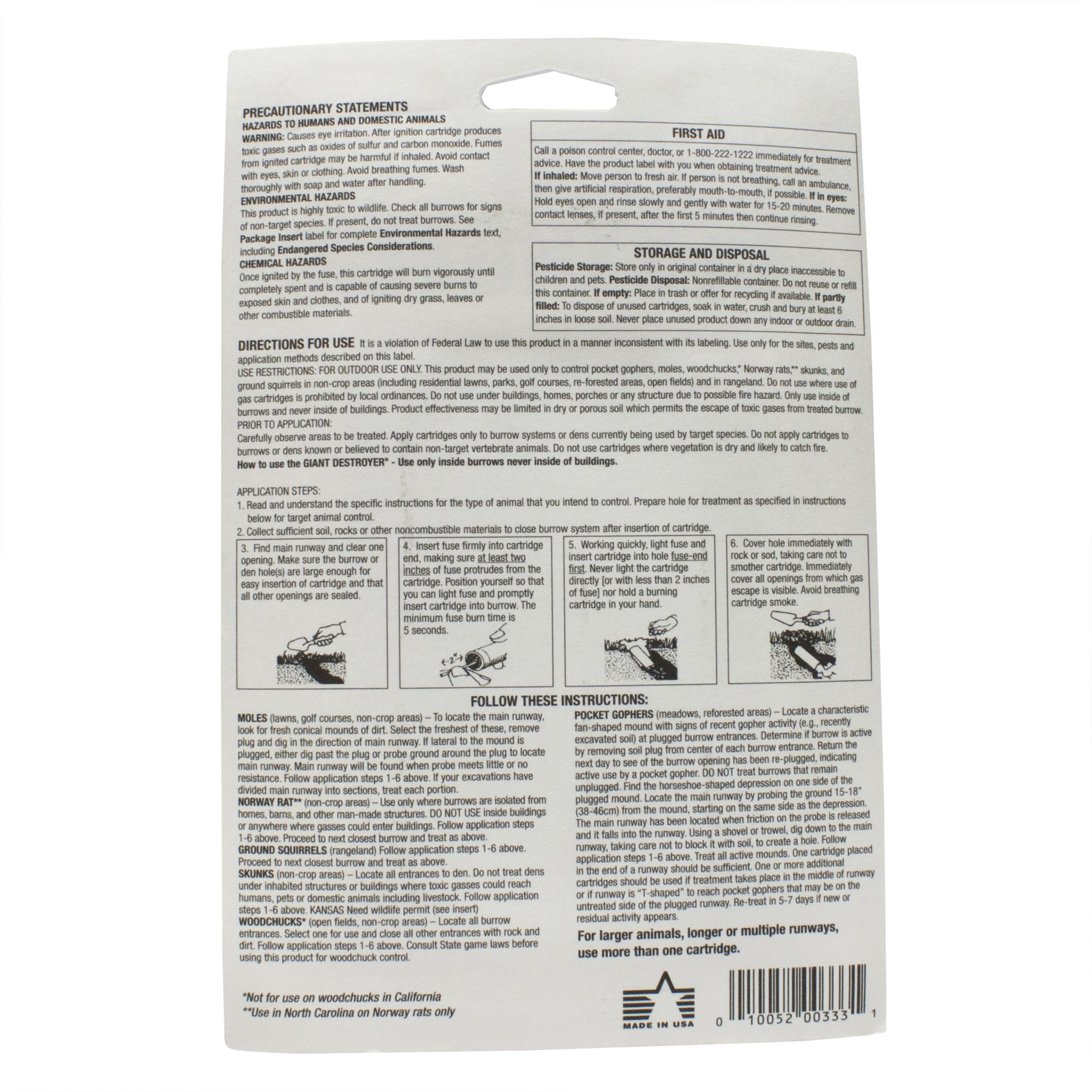 Mole Control Products - Free