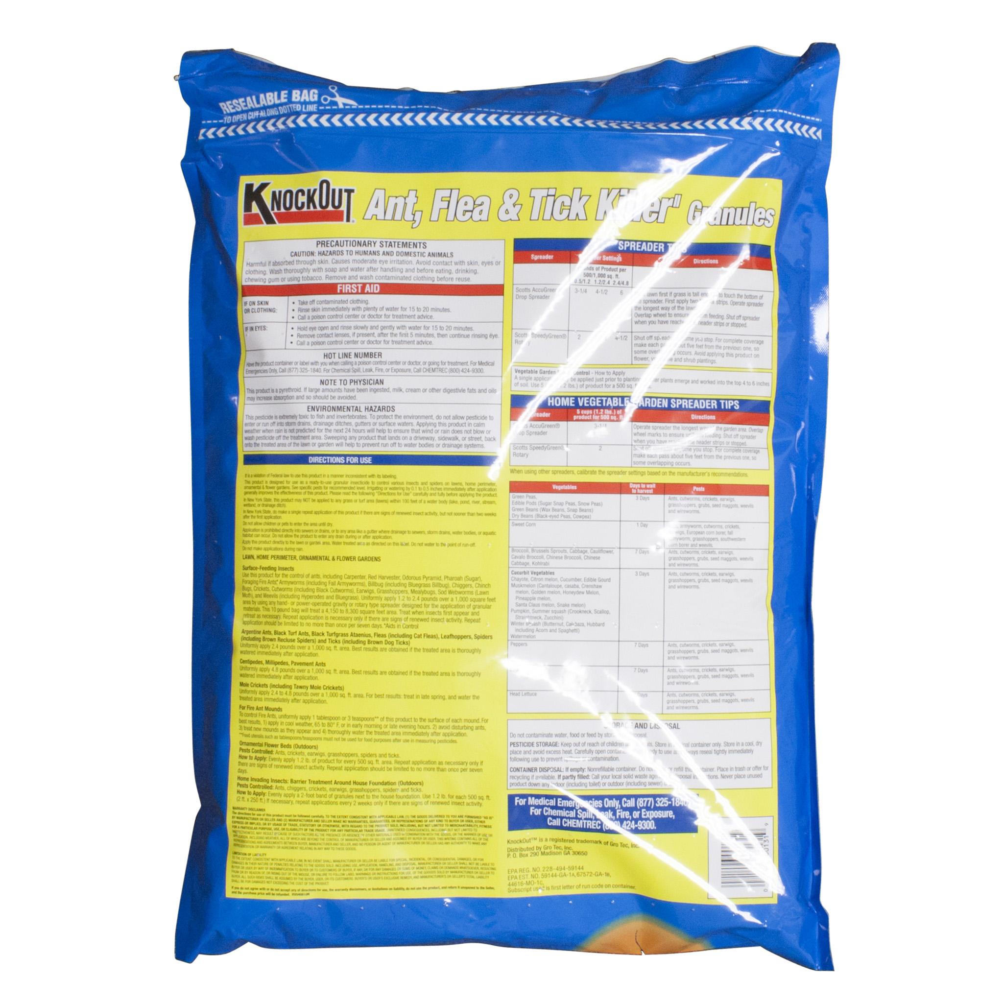 knock out ant flea u0026 tick killer granules