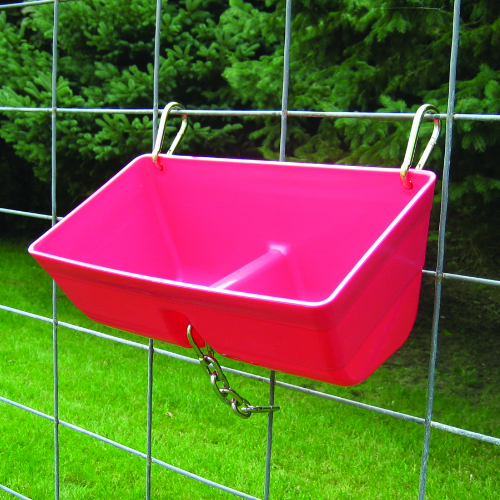 Little Giant Fence Feeder With Clips 16 In