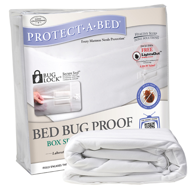 protect-a-bed box spring covers, bed bug box spring cover - full