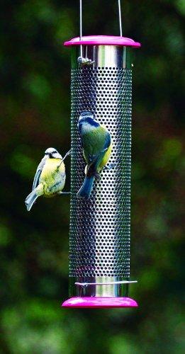Pinebush Heavy Duty Niger Seed Bird Feeder 12 In 30867