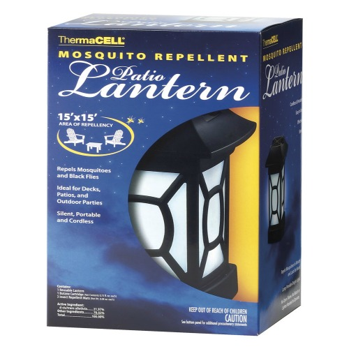 thermacell mosquito repellent patio lantern 12 hrs. Black Bedroom Furniture Sets. Home Design Ideas