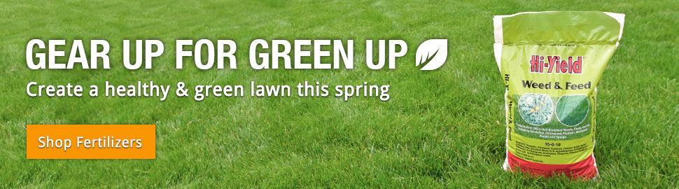 Gear Up For Green Up - Create a healthy & green lawn this spring