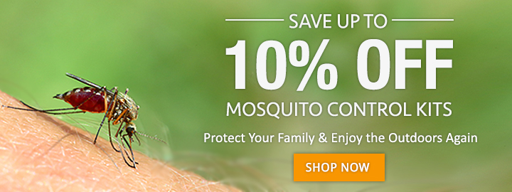 Take 10% OFF Mosquito Control Kits