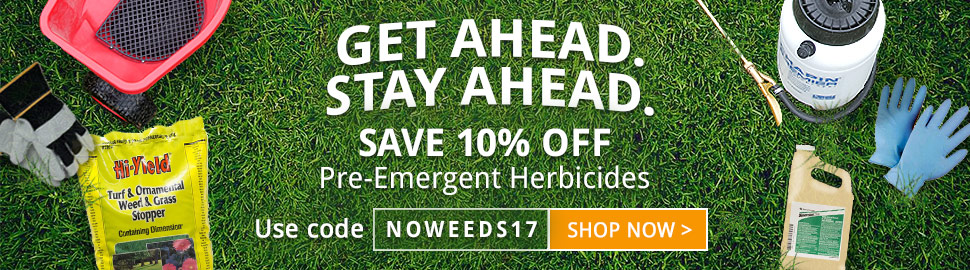 Take 10% OFF on fall pre-emergents!