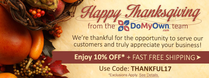 Enjoy 10% Off this Thanksgiving