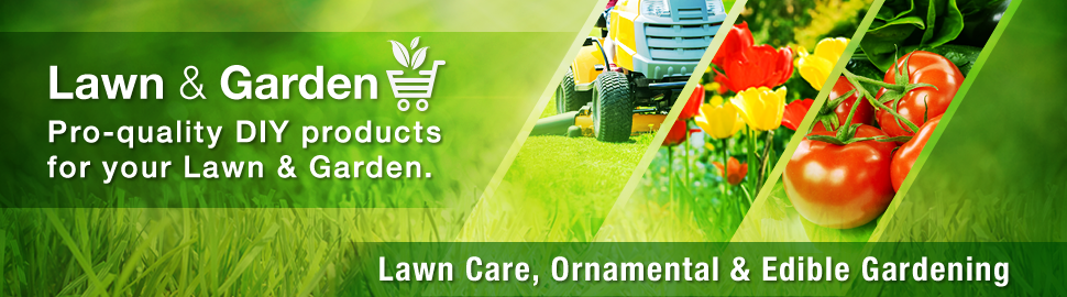 Lawn Care, Ornamental, and Edible Gardening
