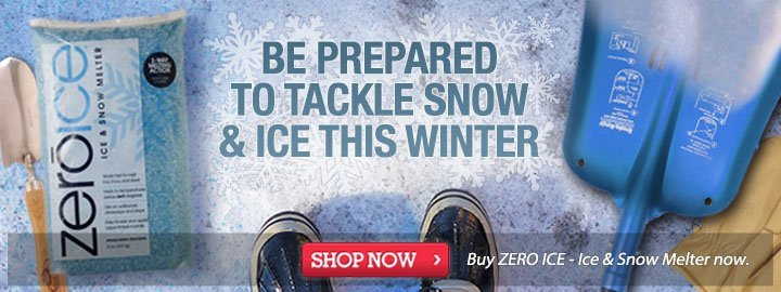 Be Prepared to Tackle the Snow & Ice