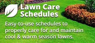 Lawn Care Schedules