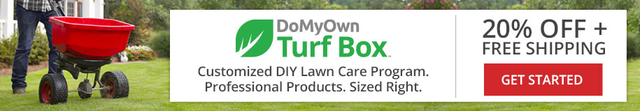DoMyOwn Turf Box Subscription Program - Customized DIY Lawn Care Program - 20% Off + Free Shipping