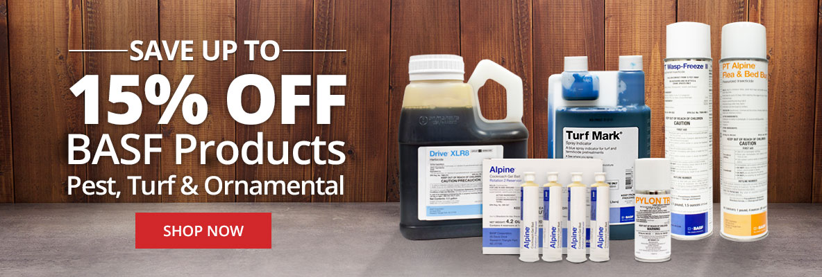 Save up to 15% Off BASF Products: Pest, Turf and Ornamental