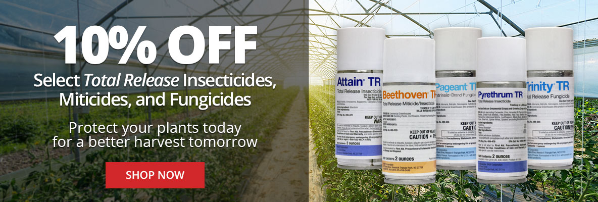 Save 10% Off on Select Total Release Insecticides, Miticides, and Fungicides at DoMyOwn.com