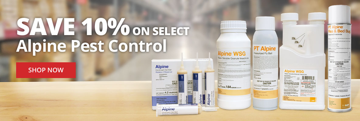 Save Up to 10% on Select Alpine Pest Control
