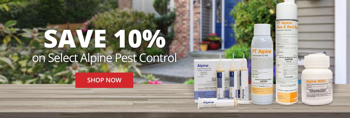 Save 10% on Select Alpine Pest Control