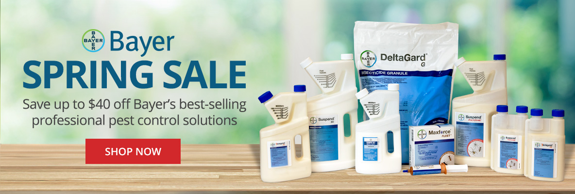 Bayer Spring Sale -Save up to $40 off Bayer professional pest control solutions