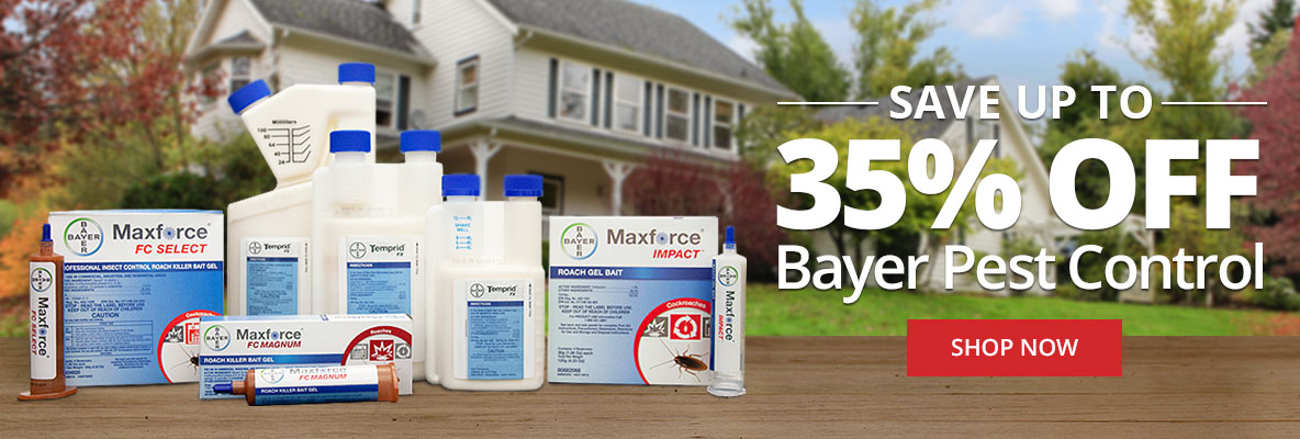 Save Up to 35% Off Bayer Pest Control -Shop Now