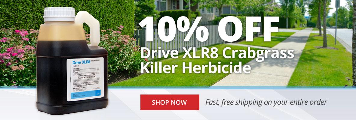 10% Off Drive XLR8 Crabgrass Killer Herbicide