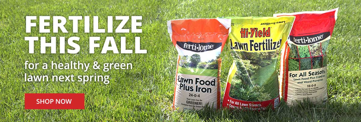 Fertilize this Fall for a healthy spring