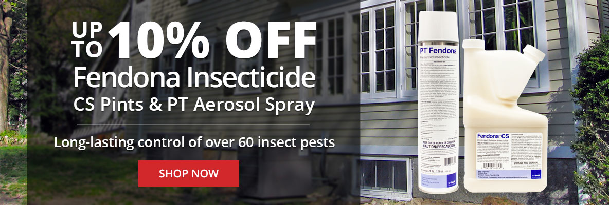 Up to 10% Off Fendona Insecticide CS Pints and PT Aerosol Spray