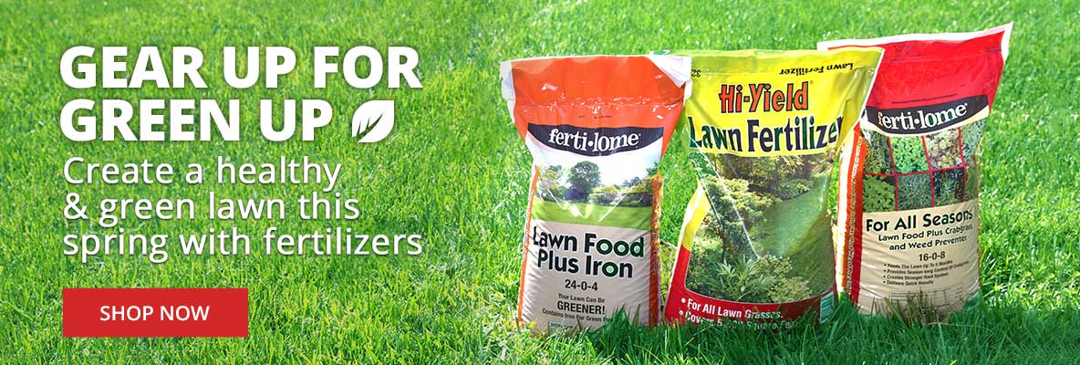 Create a Healthy Lawn This Spring with Fertilizers
