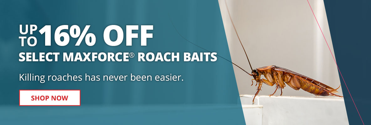 Save up to 16% Off Select Maxforce Roach Bait Gel Products