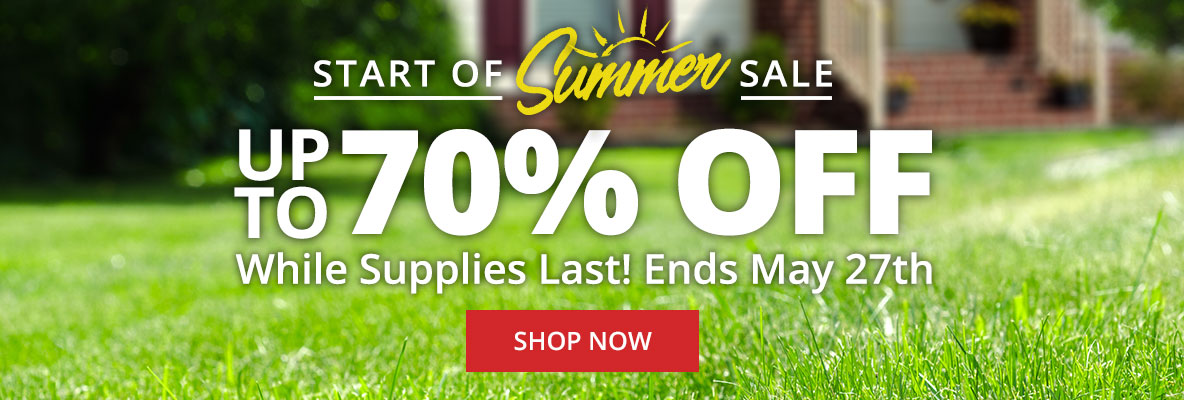 Save up to 40% Off Start of Summer Sale