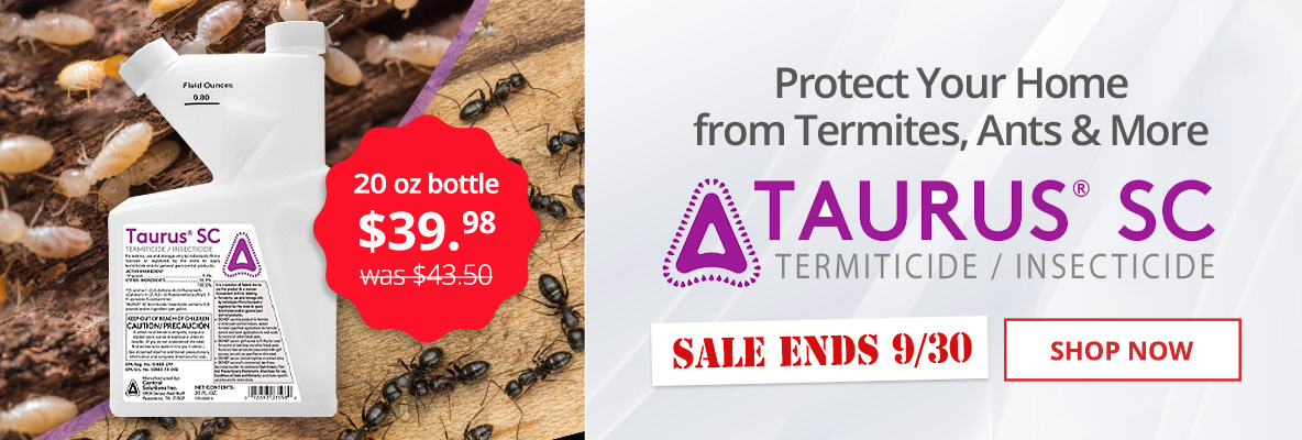 Taurus SC 20oz bottle $39.98 -Protect Your Home From Termites, Ants, & More -Sale Ends 9/30