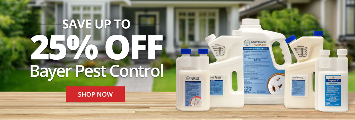 Save up to 25% off Bayer Pest Control for Summer