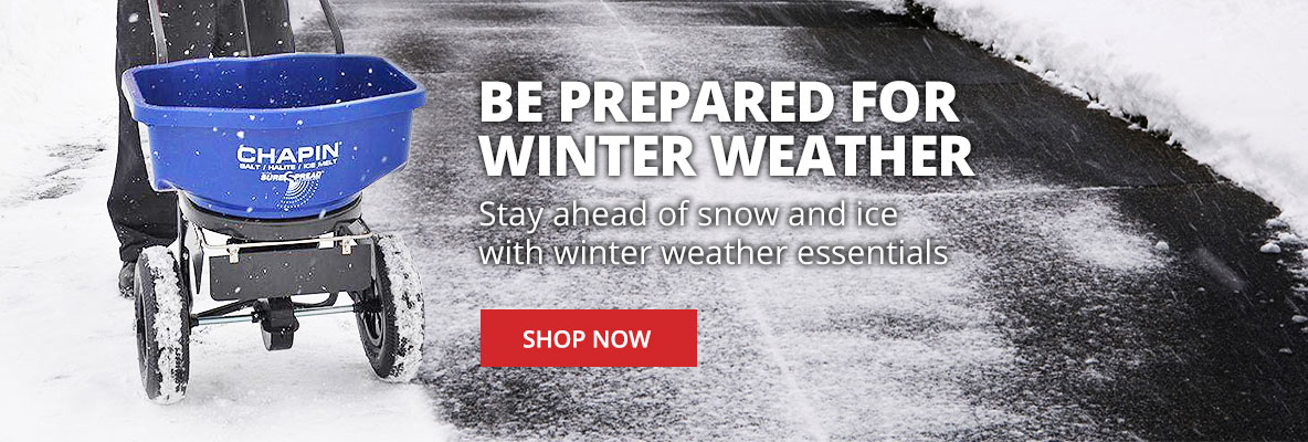 Be prepared for winter with winter weather essentials