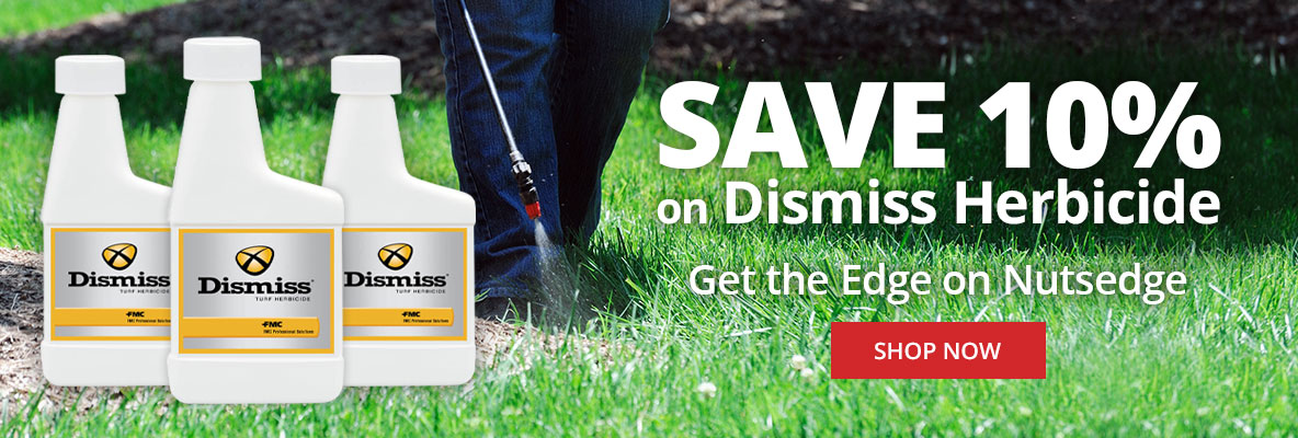 Save 10% on Dismiss Herbicide at DoMyOwn.com