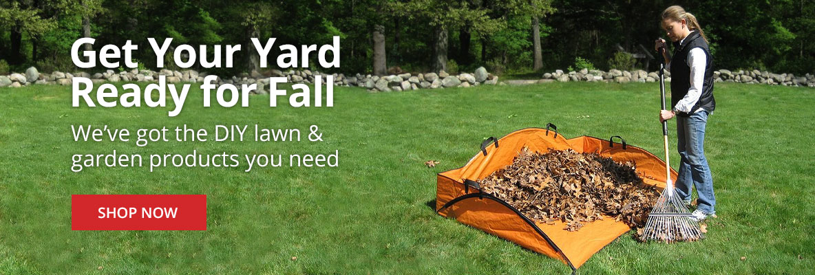 Get Your Yard Ready for Fall at DoMyOwn.com