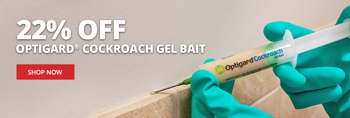 Save 22% on Optigard Cockroach Bait Gel + Free Shipping