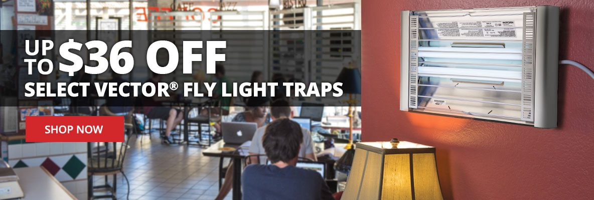 Up to $36 Off Select Vector Fly Light Traps