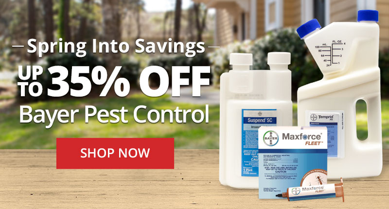Spring Into Savings - Up to 35% Off Bayer Pest Control