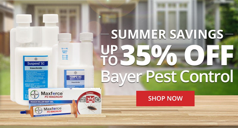 Up to 35% off Bayer Pest Control