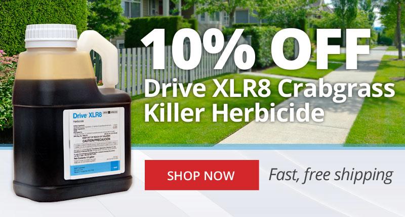 10% Off Drive XLR8 Crabgrass Killer Herbicide -Shop Now