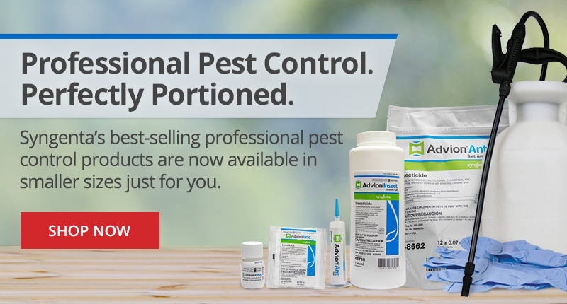 Syngenta's best-selling professional pest products now available in smaller sizes