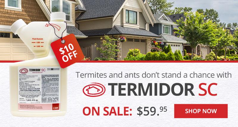 Save $10 off Termidor SC at DoMyOwn.com