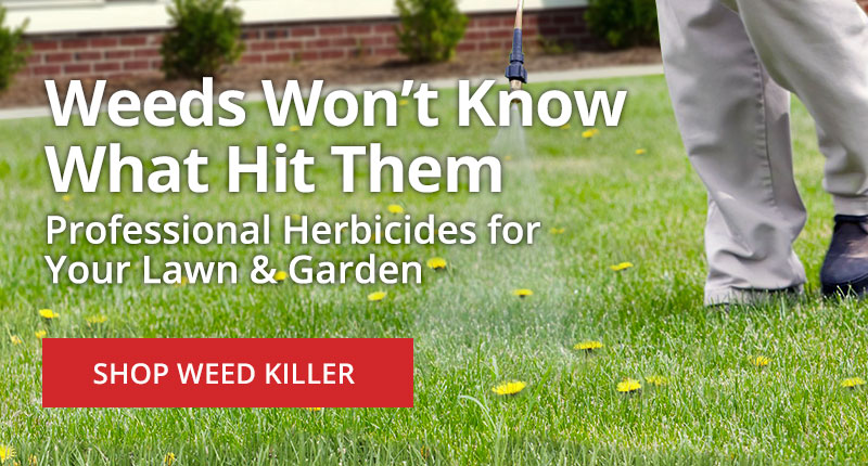 Weeds Won't Know What Hit Them -Professional Herbicides for your Lawn and Garden -Shop Weed Killer