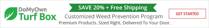Save 20% + Free Shipping with the DoMyOwn Turf Box Subscription Program - Weed Control