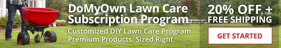 DoMyOwn Lawn Care Subscription Program - Customized DIY Lawn Care Program - 20% Off + Free Shipping