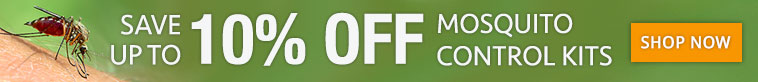 Up to 10% OFF Mosquito Control Kits
